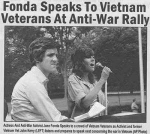 Kerry and Fonda fake