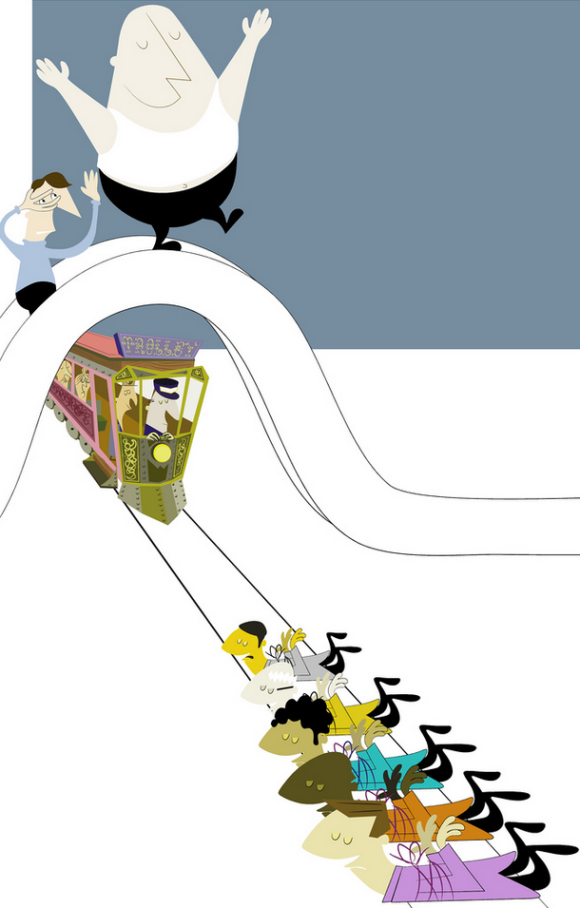 An Existentialist Approach to the Trolley Problem • TPL
