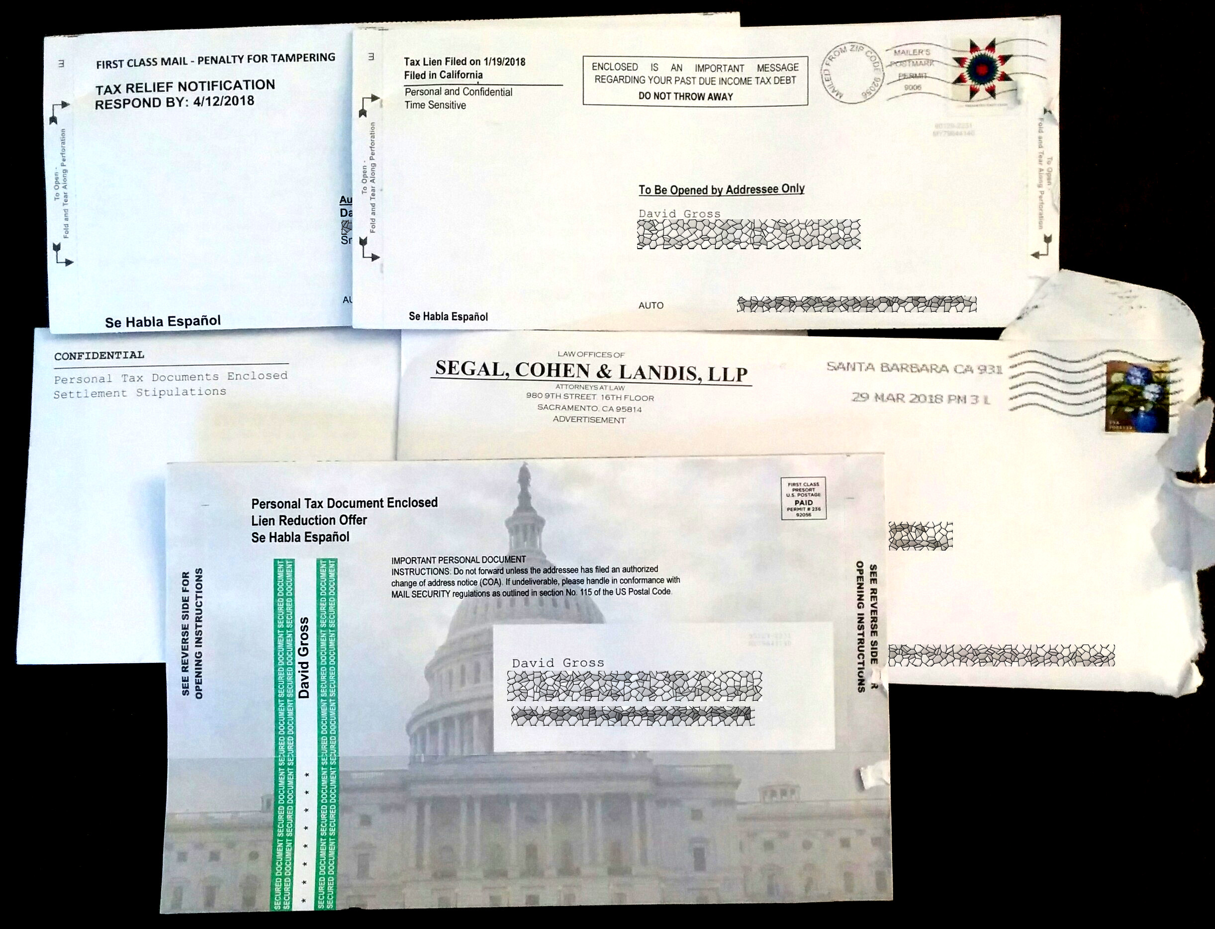 Tax Lien Brings Out the Spammers • TPL